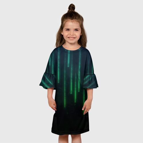 Детское платье 3D ПРОГРАММИСТ
