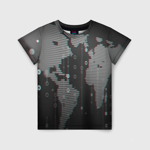 Детская футболка 3D ПРОГРАММИСТ