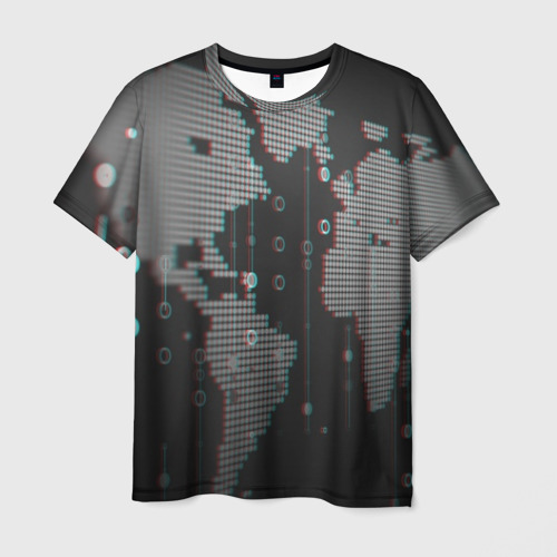 Мужская футболка 3D ПРОГРАММИСТ