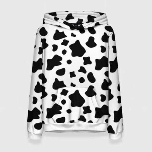 Женская толстовка 3D Корова