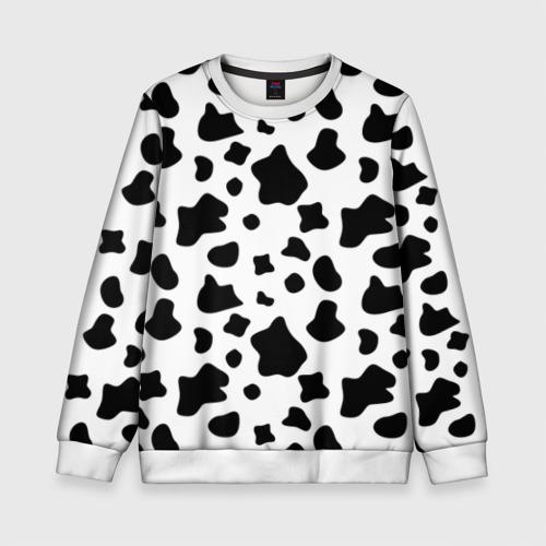 Детский свитшот 3D Корова