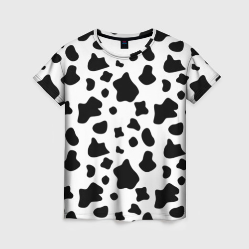 Женская футболка 3D Корова