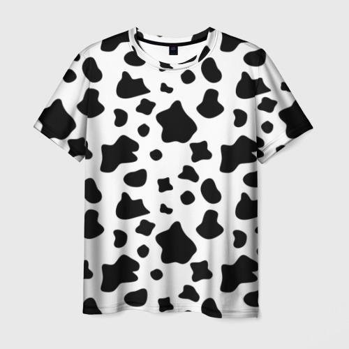 Мужская футболка 3D Корова