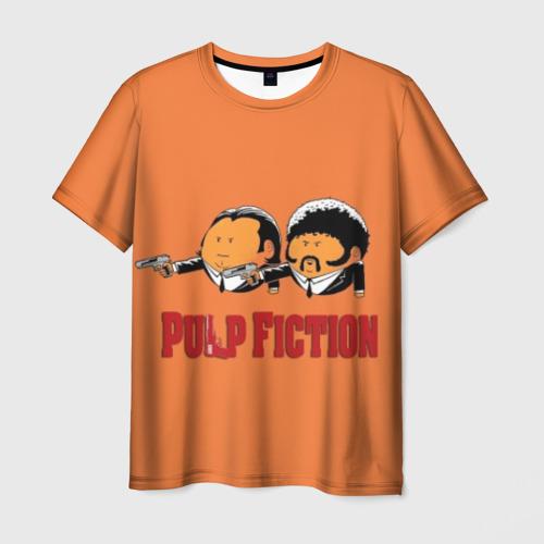 Мужская футболка 3D Pulp Fiction - Art 2