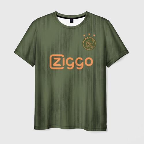 Мужская футболка 3D Ajax away 19-20