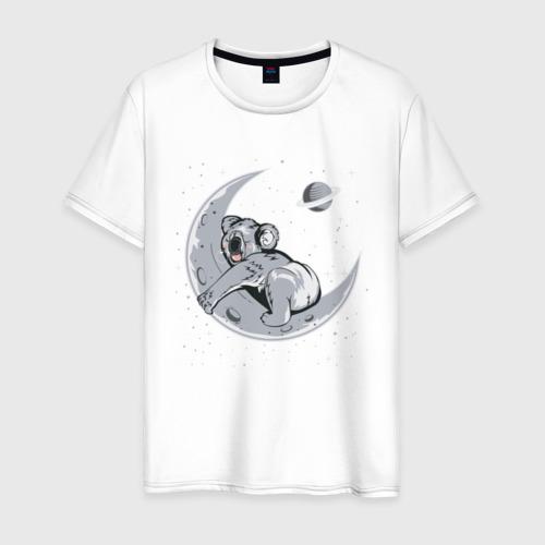 Мужская футболка хлопок Спящая коала