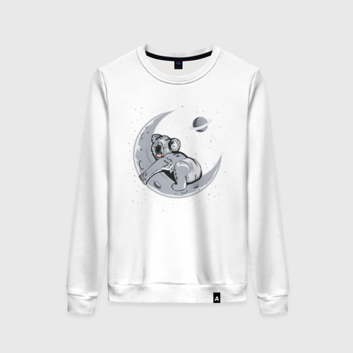Женский свитшот хлопок Спящая коала
