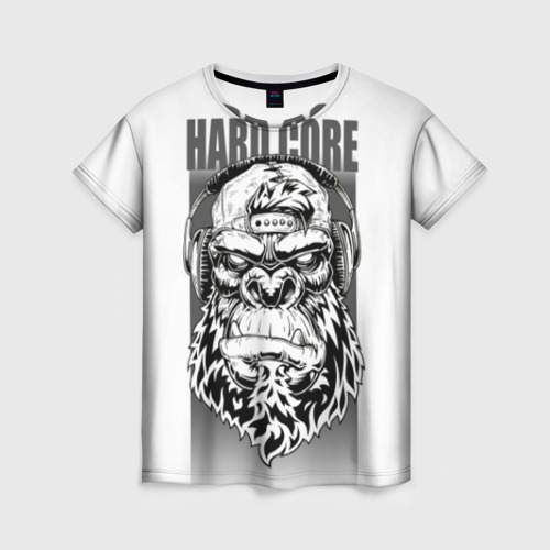 Женская футболка 3D HARD CORE