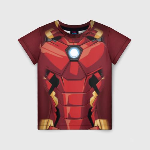 Детская футболка 3D Iron Man costume