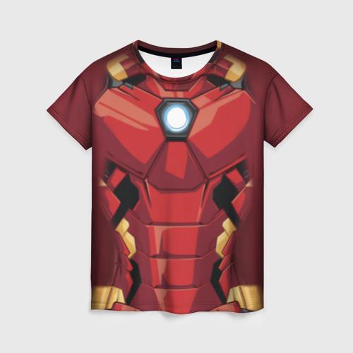 Женская футболка 3D Iron Man costume
