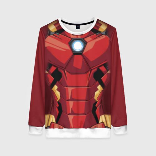 Женский свитшот 3D Iron Man costume