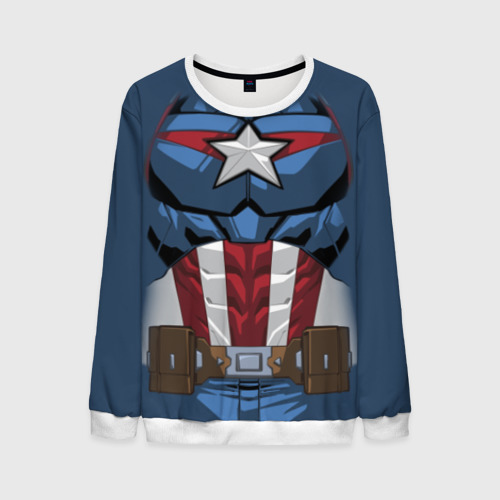 Мужской свитшот 3D Captain America costume