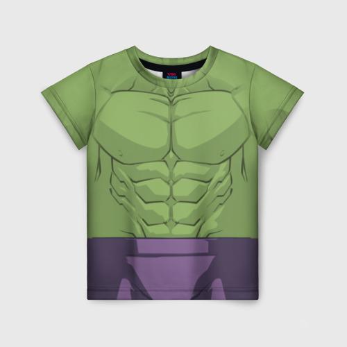 Детская футболка 3D Hulk costume