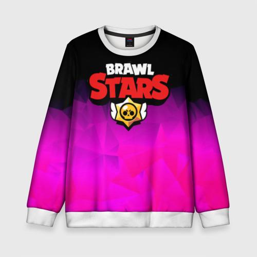 Детский свитшот 3D BRAWL STARS CRYSTALES
