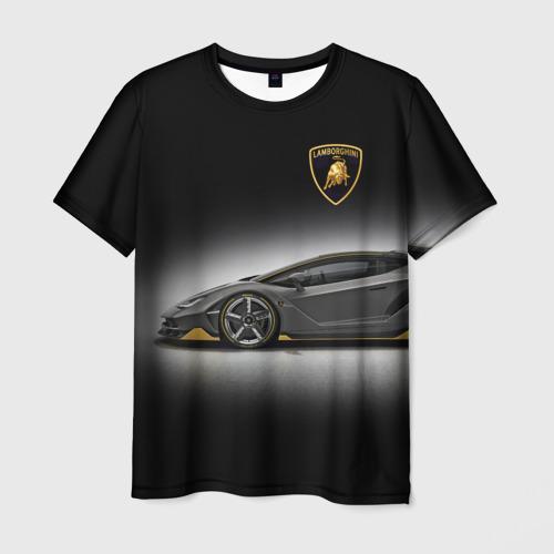 Мужская футболка 3D Lambo