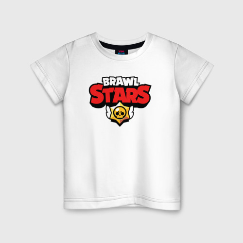 Детская футболка хлопок BRAWL STARS   БРАВЛ СТАРС (НА СПИНЕ)