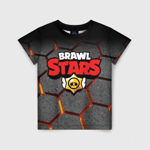Детская футболка 3D Brawl Stars Hex