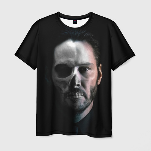 Мужская футболка 3D Джон Уик 3