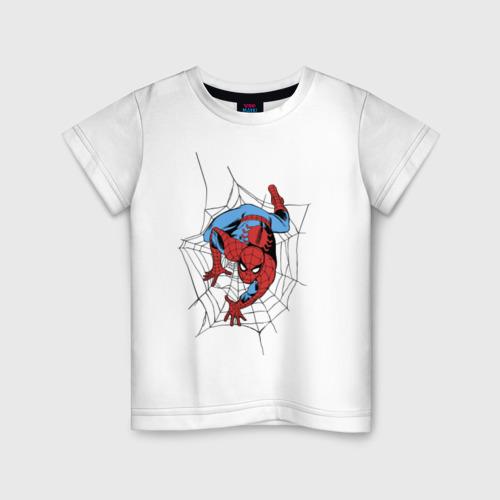 Детская футболка хлопок Spider-man comics