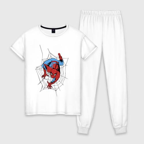 Женская пижама хлопок Spider-man comics