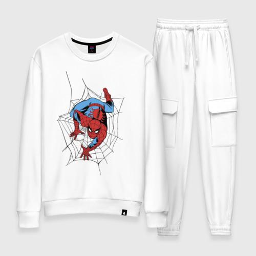 Женский костюм хлопок Spider-man comics