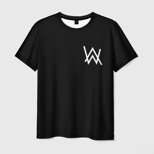 Мужская футболка 3D ALAN WALKER (НА СПИНЕ)