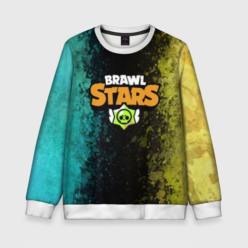 Детский свитшот 3D Brawl Stars.