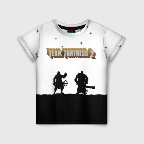 Детская футболка 3D Team Fortress 2