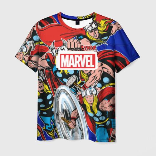 Мужская футболка 3D Thor