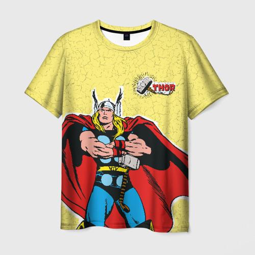 Мужская футболка 3D Молот Тора