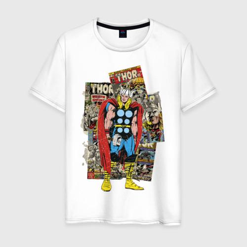 Мужская футболка хлопок Тор комикс