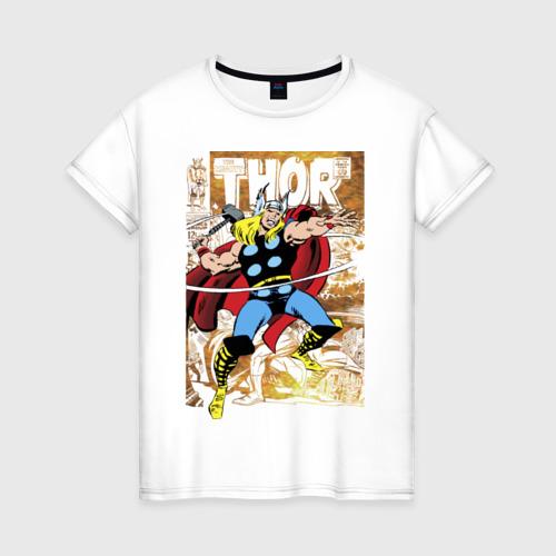 Женская футболка хлопок Thor