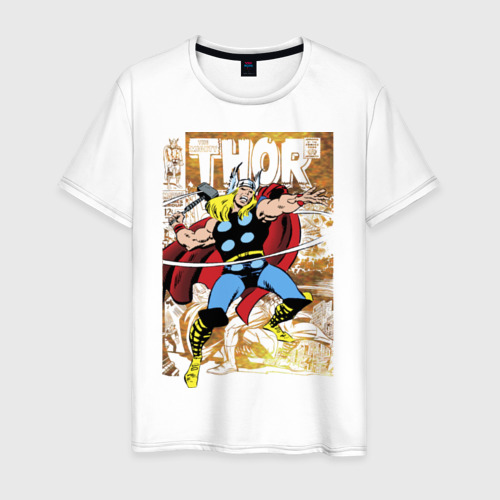 Мужская футболка хлопок Thor