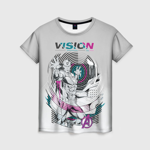 Женская футболка 3D Vision