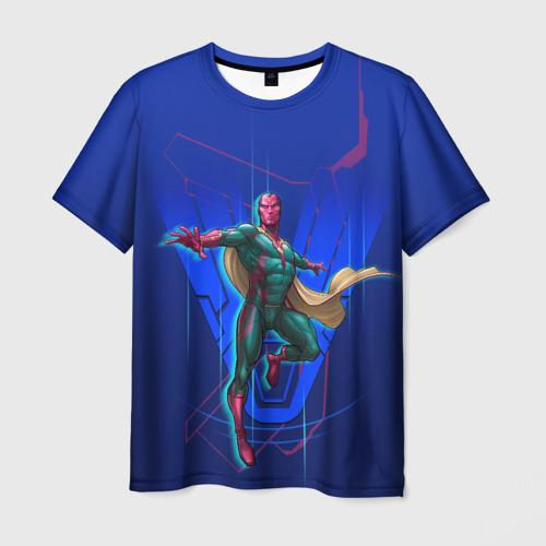 Мужская футболка 3D Vision
