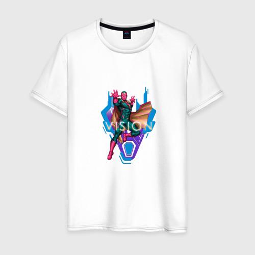 Мужская футболка хлопок Vision