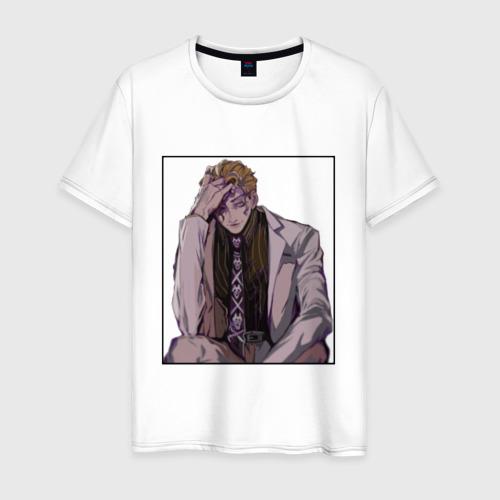 Мужская футболка хлопок Kira Yoshikage Psycho