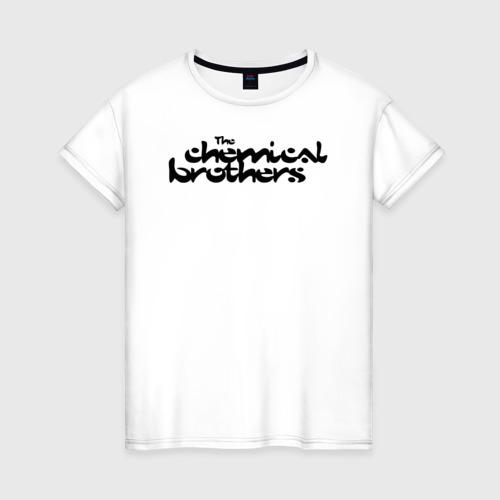 Женская футболка хлопок The Chemical Brothers