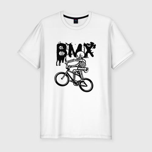Мужская футболка хлопок Slim BMX