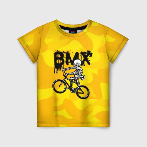 Детская футболка 3D BMX