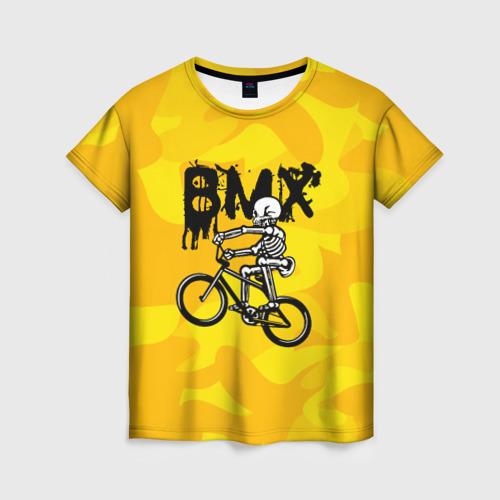 Женская футболка 3D BMX