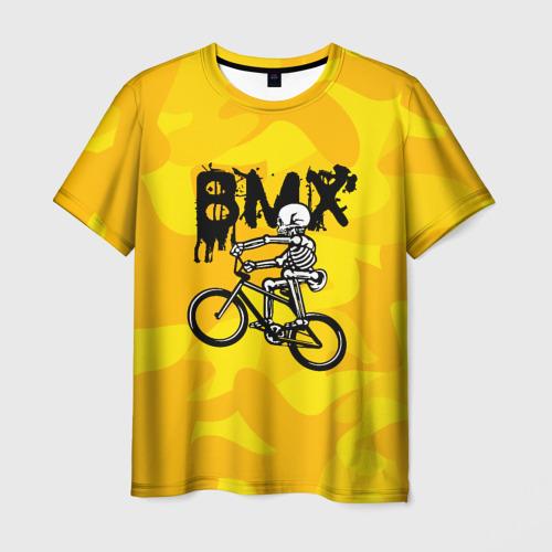 Мужская футболка 3D BMX
