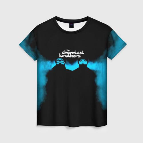Женская футболка 3D The Chemical Brothers