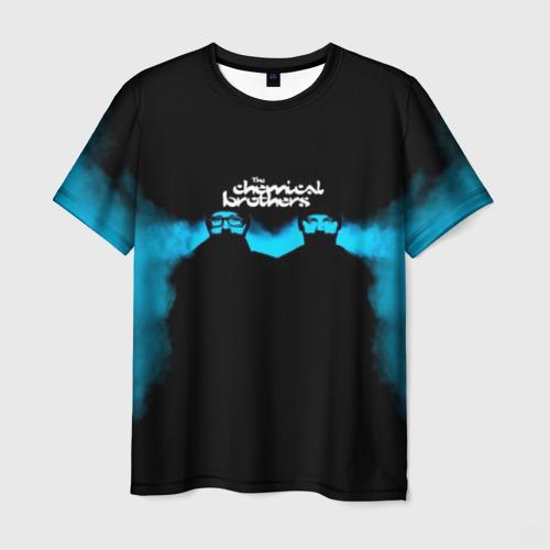 Мужская футболка 3D The Chemical Brothers