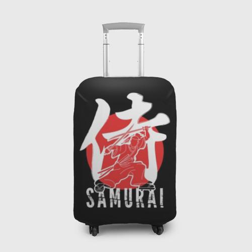 Чехол для чемодана 3D Samurai
