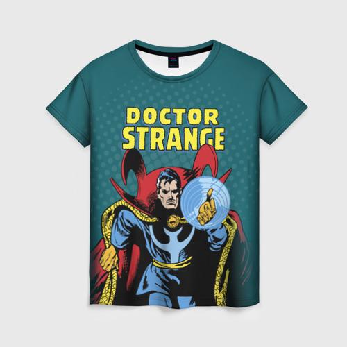 Женская футболка 3D Doctor Strange