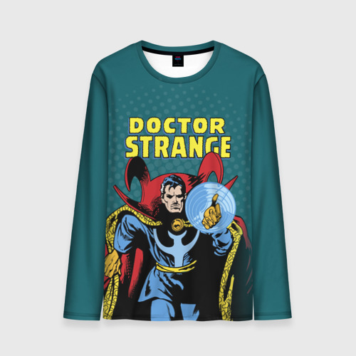 Мужской лонгслив 3D Doctor Strange