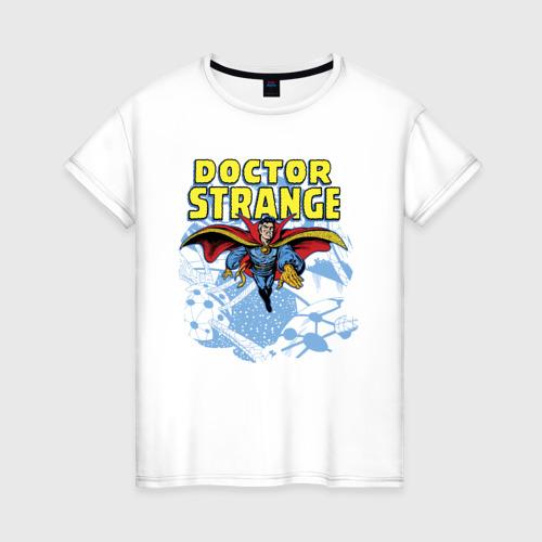 Женская футболка хлопок Doctor Strange