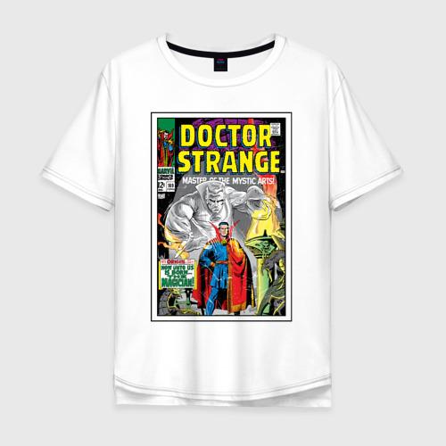 Мужская футболка хлопок Oversize Doctor Strange