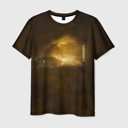 Мужская футболка 3D Чернобыль 2